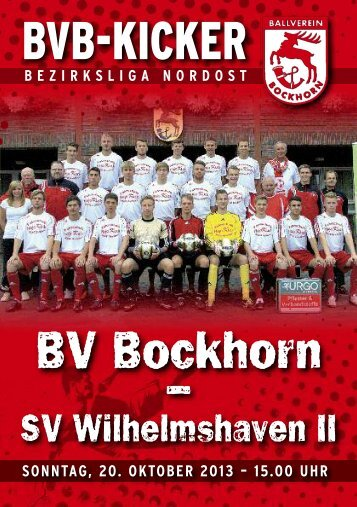 26345 Bockhorn - BV Bockhorn