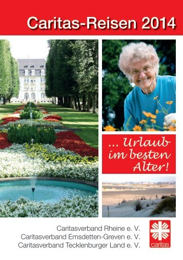 Katalog der Caritas Seniorenreisen 2014 - Caritas Rheine