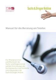 Manual - Deutsche Hauptstelle für Suchtfragen e.V.