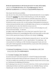 Jahresbericht des Superintendenten - Kirchenkreis Kleve