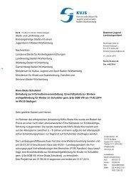 Kiwo-Skala Schulkind - Einladung zur Informationsveranstaltung