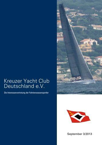 KYCD-Seminar - Kreuzer Yacht Club Deutschland e.V.