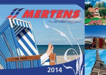2014 - Mertens Reisen