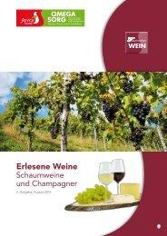 Erlesene Weine - OMEGA SORG GmbH