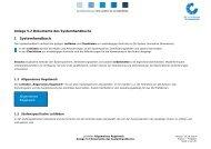 1 Systemhandbuch - QS Qualität und Sicherheit GmbH