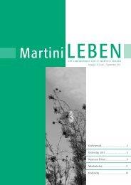 Ausgabe 10: Juni - September 2013 - Ev.-Luth. St.-Martini ...