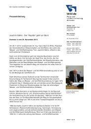 Verabschiedung Herr Gährs - Wasser- und Schifffahrtsverwaltung ...