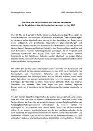 Rolle von Ad hoc-Helfern und Sozialen Netzwerken bei der ... - BBE