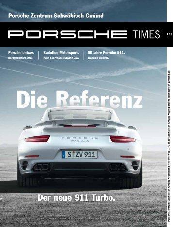 Der neue 911 Turbo. - Porsche Club CMS