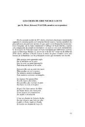 LES CROIX DE SIRE NICOLE LOUVE