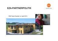 Zusammenfassung der EZA-Partnerpolitik