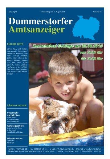 August - Dummerstorf