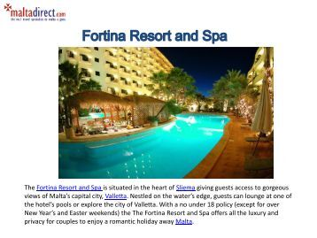 Fortina Hotel and Spa