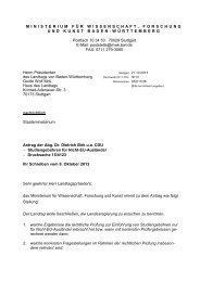2013-10-24 PM 191 Birk zu Studiengebühren für ... - CDU-Fraktion