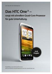 Das HTC One X – sorgt mit schnellem Quad-Core ... - trndload