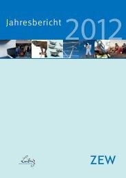Jahresbericht - Zentrum für Europäische Wirtschaftsforschung GmbH
