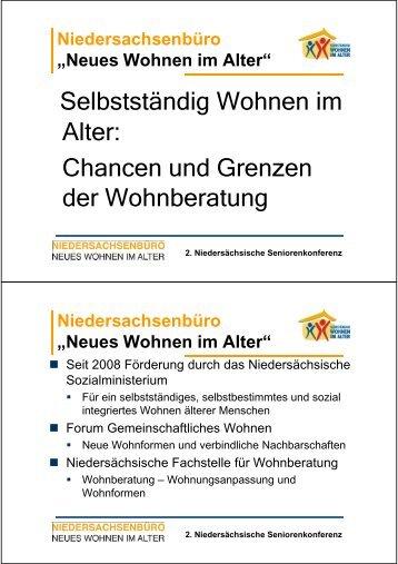 Seniorenkonferenz Wohnberatung [Kompatibilitätsmodus]