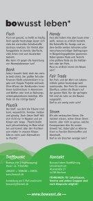 bowusst - Greenpeace Gruppen in Deutschland - Page 2
