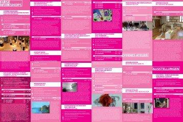 Programm des Kunststück 2013 - Landkreis Haßberge