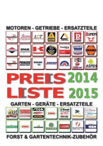 ALITEC Katalog 2014 / 2015