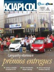 Revista Aciapi-CDL Fevereiro 2014