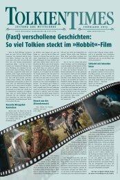 So viel Tolkien steckt im »Hobbit«-Film - Klett-Cotta