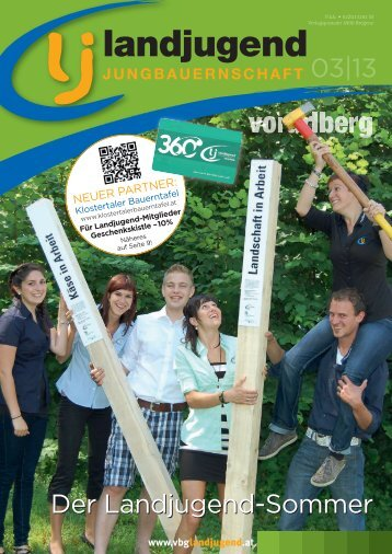 Vorarlberg - Ausgabe 03/2013 - Landjugend Österreich