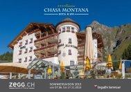 Prospekt downloaden - Hotel Chasa Montana