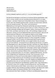 Werner Fuchs Lerchenweg 24 92360 Mühlhausen Im Zorn ...