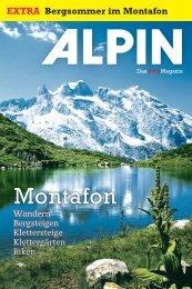 EXTRA Bergsommer im Montafon - Alpin.de