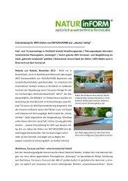 Pool- und Terrassenanlage mit WPC ... - NATURinFORM