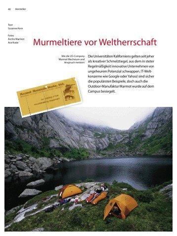 Murmeltiere vor Weltherrschaft - 4-Seasons.de