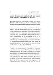21 jahrhundert union investment partners bg group investment appraisal pdf