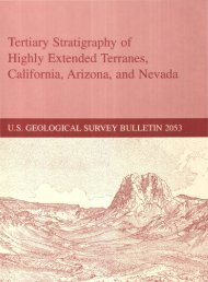 Tertiary Stratigraphy of Highly Extended Terranes, California ... - USGS