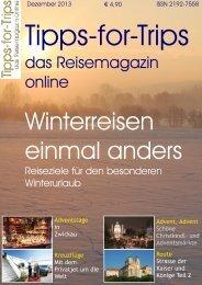 Tipps-for-Trips Reisemagazin 5.2013