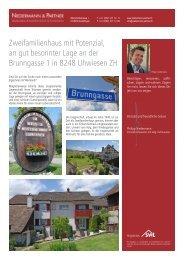 Zweifamilienhaus mit Potenzial, an gut besonnter Lage an der ...