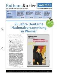 Rathauskurier 2-2014 - Stadt Weimar