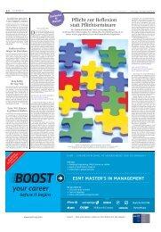 Aktuelle Ausgabe Bachelor & Master - sz-media.de