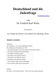 Deutschland und die Judenfrage - Terra - Germania