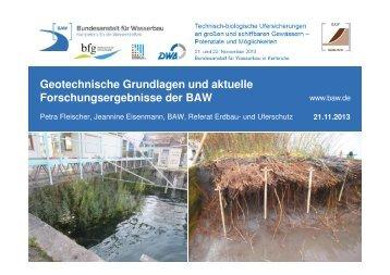 23 MB - Alternative technisch-biologische Ufersicherungen an ...