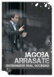 Dossier Jagoba Arrasate
