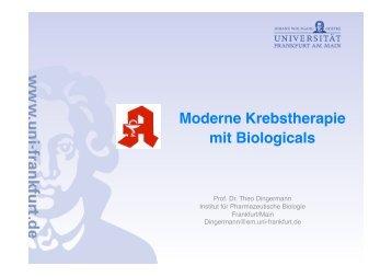 Moderne Krebstherapie mit Biologicals
