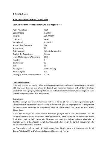 D-31618 Liebenau Hotel deutsches Haus.pdf - Warsteiner Gruppe