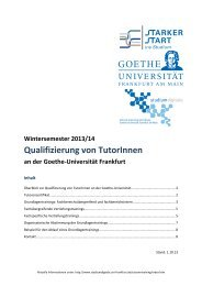 Tutorentraining_WS13.. - Goethe-Universität