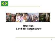 Brasilien Land der Gegensätze - Akademie für Politische Bildung ...