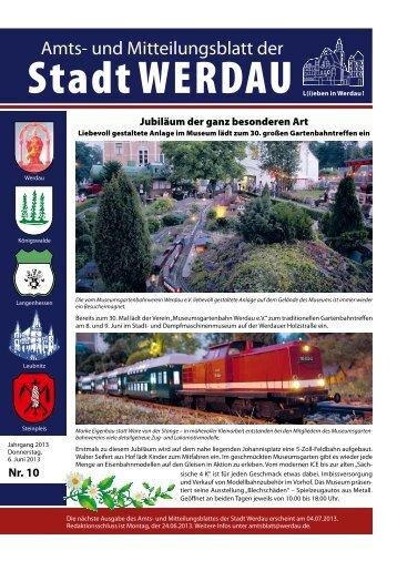 Nr. 10 - Stadt Werdau