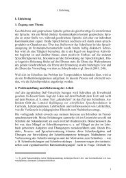 Prinzipien bei der Entwicklung von Lehrwerken für das Fach ...