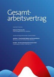 Swisscom IT-Services: GAV 2013
