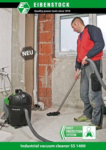 Industrial vacuum cleaner SS 1400 - Eibenstock