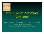 Incontinence Associated Dermatitis